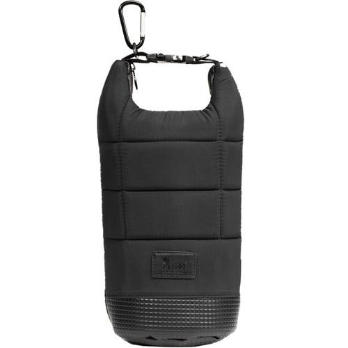 MegaGear Soft Lens Bag with Adjustable Handle for Large-Sized Lenses (Black)