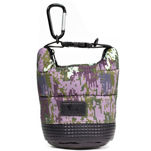 MegaGear Soft Lens Bag with Adjustable Handle for Small-Sized Lenses (Army)