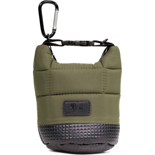 MegaGear Soft Lens Bag with Adjustable Handle for Small-Sized Lenses (Green)