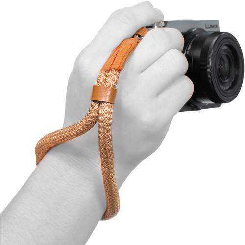 MegaGear Cotton Wrist Strap (Brown)