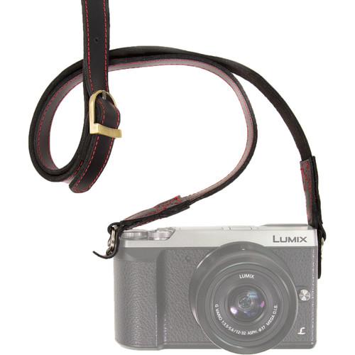 MegaGear Soft Carry Strap for DSLR Cameras (Black)