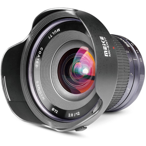 Meike MK-12mm f/2.8 Lens for Micro Four Thirds