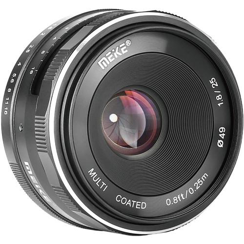 Meike MK-25mm f/1.8 Lens for FUJIFILM X