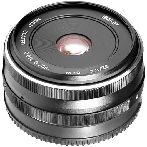 Meike MK-28mm f/2.8 Lens for Canon EF-M