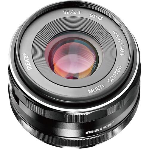 Meike MK-35mm f/1.7 Lens for Sony E