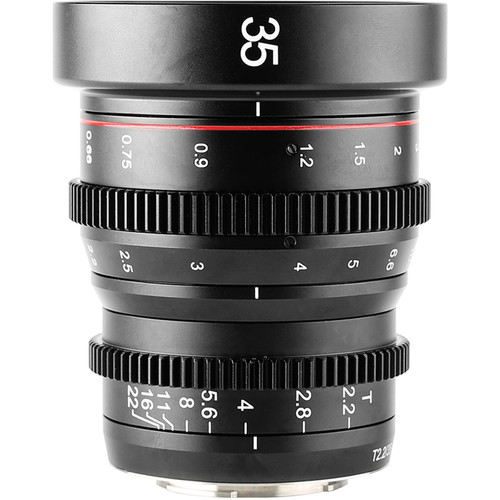 Meike 35mm T2.2 Manual Focus Cinema Lens (MFTMount)