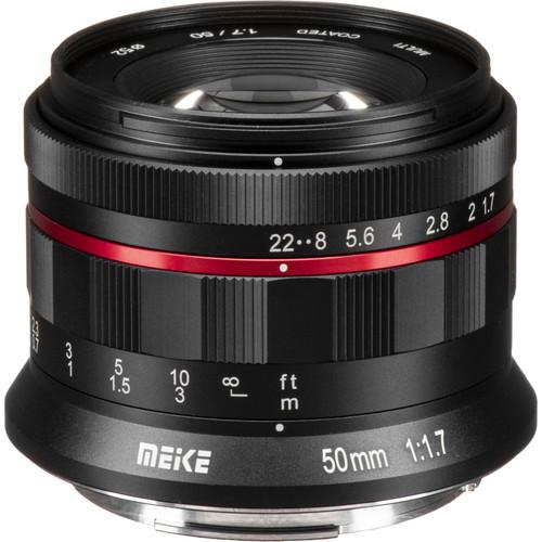 Meike MK-50mm f/1.7 Lens for Canon RF