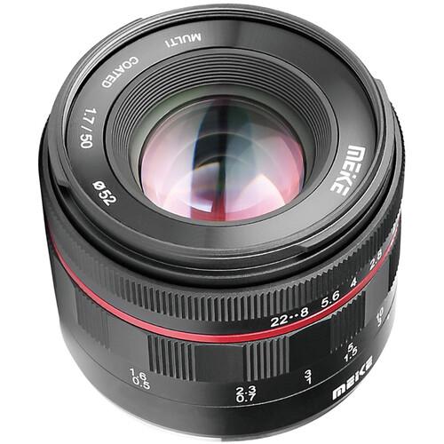 Meike MK-50mm f/1.7 Lens for Sony E