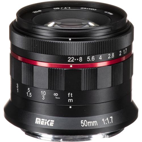 Meike MK-50mm f/1.7 Lens for Nikon Z