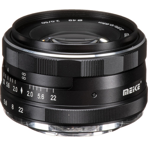 Meike MK-50mm f/2 Lens for FUJIFILM X