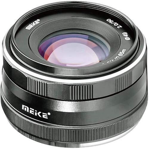 Meike MK-50mm f/2 Lens for Sony E