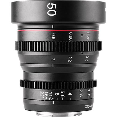 Meike 50mm T2.2 Manual Focus Cinema Lens (MFT Mount)