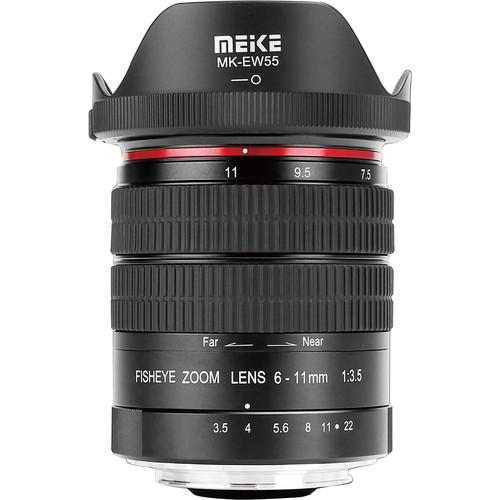 Meike MK-6-11mm f/3.5 Fisheye Lens for Nikon F