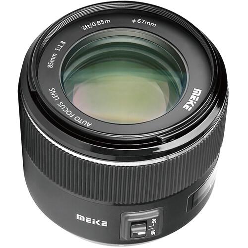 Meike MK-85mm f/1.8 Lens for Canon EF
