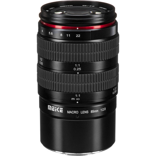 Meike MK-85mm f/2.8 Macro Lens for Micro Four Thirds