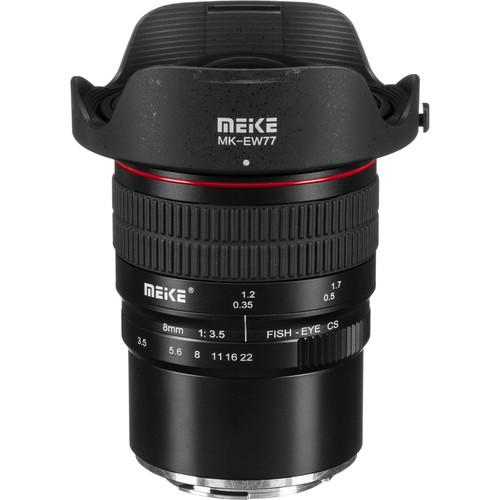 Meike MK-8mm f/3.5 Fisheye Lens for Canon EF-M