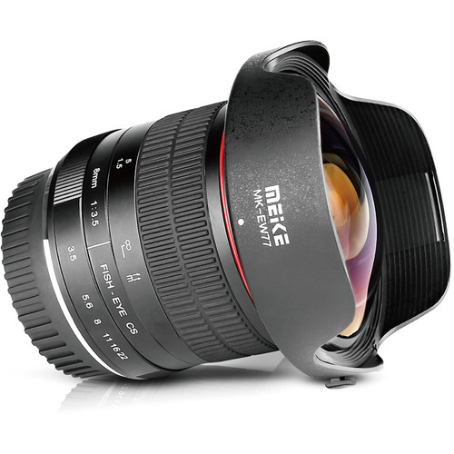 Meike MK-8mm f/3.5 Fisheye Lens for Canon EF
