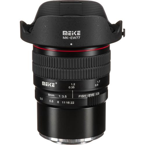 Meike MK-8mm f/3.5 Fisheye Lens for FUJIFILM X