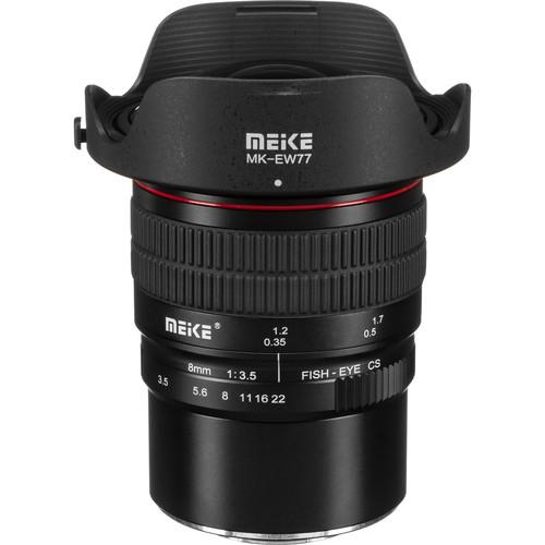 Meike MK-8mm f/3.5 Fisheye Lens for Micro Four Thirds