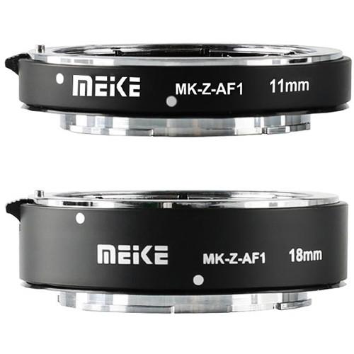 Meike MK-Z-AF1 11mm and 18mm Extension Tubes for Nikon Z