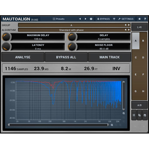 MeldaProduction MAutoAlign - Automatic Delays and Phase Inversions Plug-In (Download)