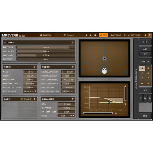 MeldaProduction MReverb - Reverb Plug-In (Download)