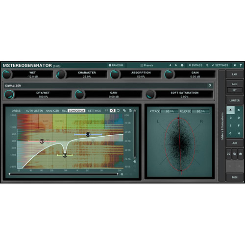 MeldaProduction MStereoGenerator - Sound Field Expander Plug-In (Download)