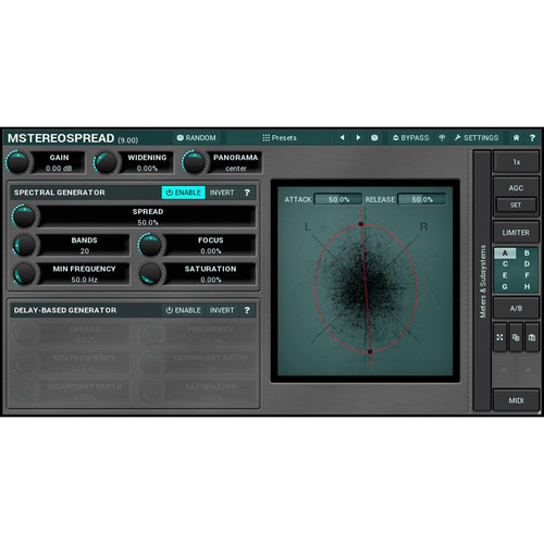 MeldaProduction MStereoSpread - Stereo Expansion Plug-In (Download)