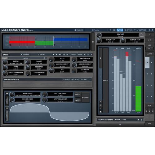 MeldaProduction MMultiBandFlanger - Multiband Flanger Plug-In (Download)