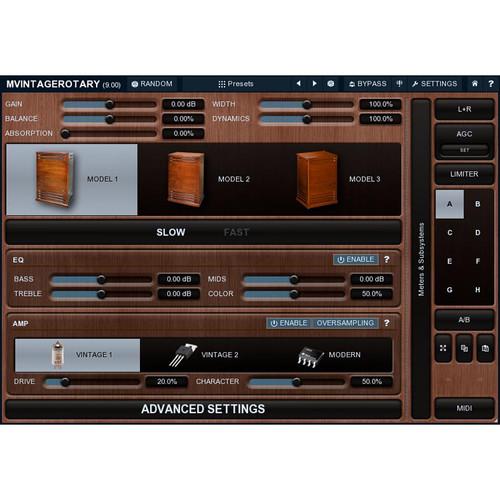 MeldaProduction MVintageRotary - Leslie Cabinet Simulation Plug-In (Download)
