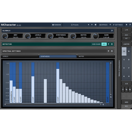 MeldaProduction MCharacter - Harmonic Processor Plug-in (Download)
