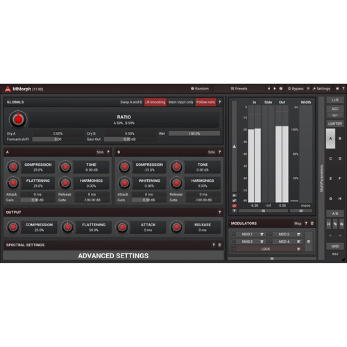 MeldaProduction MMorph Audio Morphing Plug-In (Download)