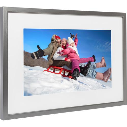 "Memento Electronics 25"" Smart Frame (Silver)"