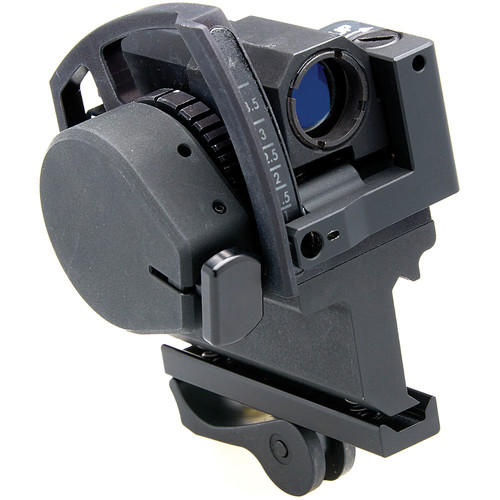 MEPROLIGHT LTD Mepro GLS Reflex Sight with Side Adapter for 40mm GLS (Illuminated Dot Reticle)