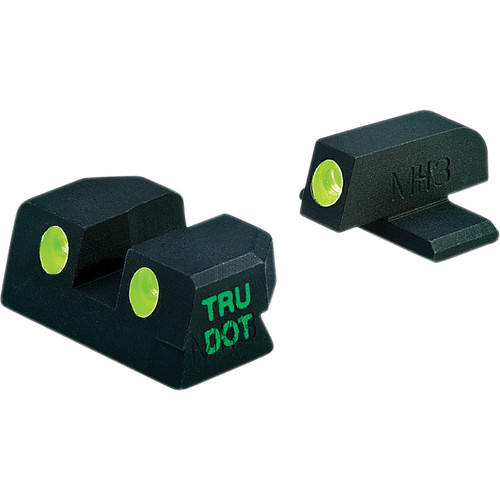 MEPROLIGHT LTD Tru-Dot Tritium Night Sight Set for Sig Sauer P238 (Green / Green)