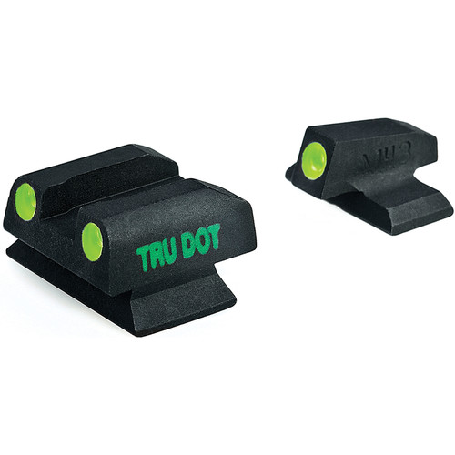 MEPROLIGHT LTD Tru-Dot Tritium Night Sight Set for Beretta PX-4 Storm F/G (Green / Green)