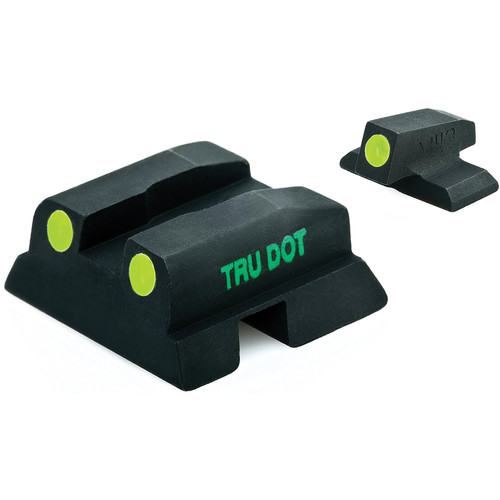 MEPROLIGHT LTD Tru-Dot Tritium Night Sight Set for Beretta PX-4 Storm C/D (Green / Green)