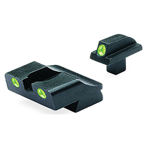 MEPROLIGHT LTD Tru-Dot Tritium Night Sight Set for Colt 1911 (Green / Green)