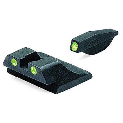 MEPROLIGHT LTD Tru-Dot Tritium Night Sight Set for Ruger P89 (Green / Green)