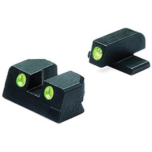 MEPROLIGHT LTD Tru-Dot Tritium Night Sight for Springfield XD 9 & 40 (Set - Green/Green)