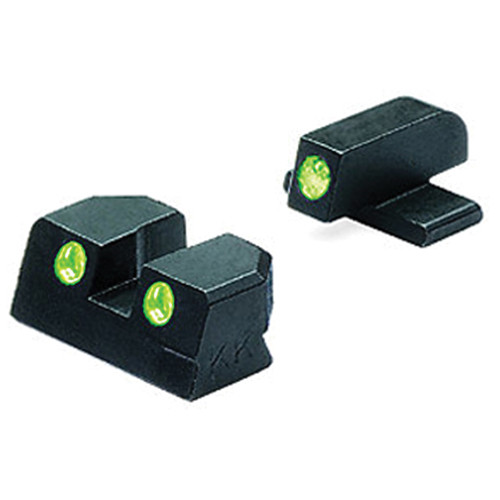 MEPROLIGHT LTD Tru-Dot Tritium Night Sight for Springfield XD 45 (Set - Green/Green)