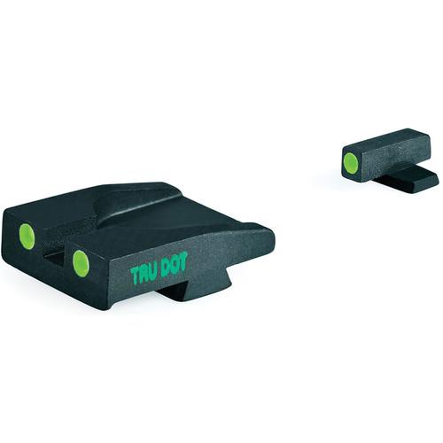 MEPROLIGHT LTD Tru-Dot Tritium Night Sight for Springfield XDM (Set - Green/Green)