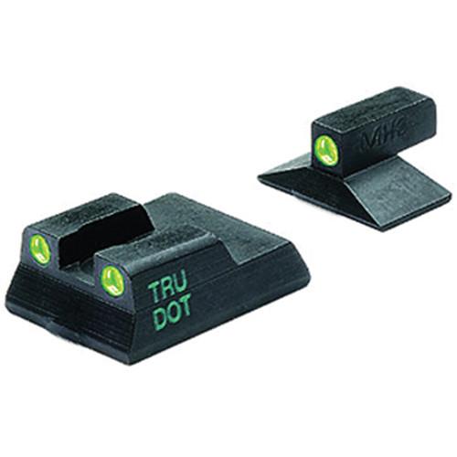 MEPROLIGHT LTD Tru-Dot Tritium Night Sight for H&K P7 M8 & M10 (Set - Green/Green)