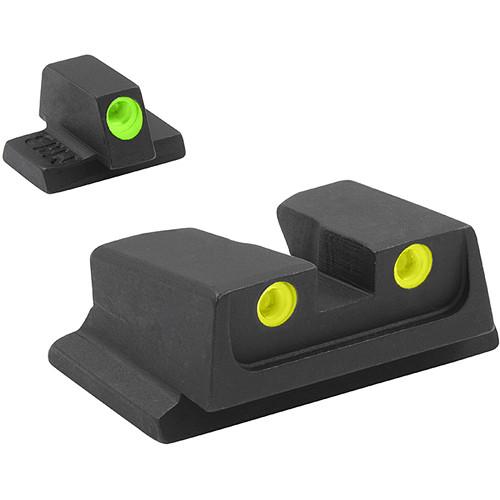 MEPROLIGHT LTD Fixed Self-Illuminated Tru-Dot Night Sight for S&W M&P (Green/Yellow)