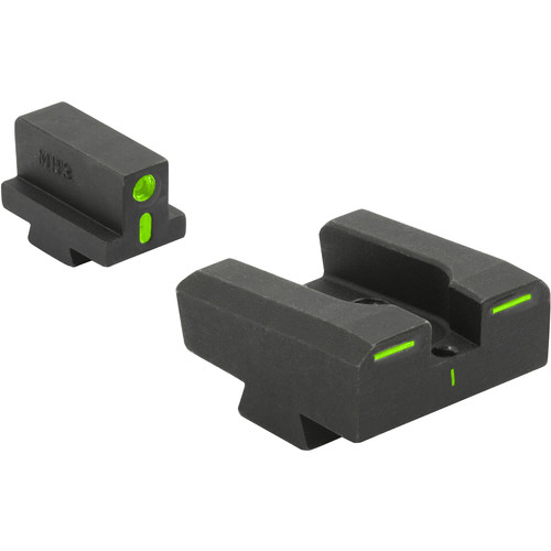 MEPROLIGHT LTD R4E Optimized Duty Sight for Sig Sauer 9mm and .357 (Green/Green)