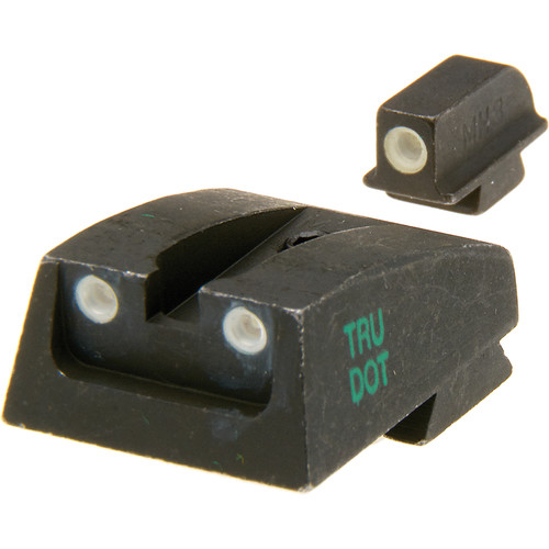 MEPROLIGHT LTD Tru-Dot Tritium Night Sight for Walther PPS (Set - Green/Green)