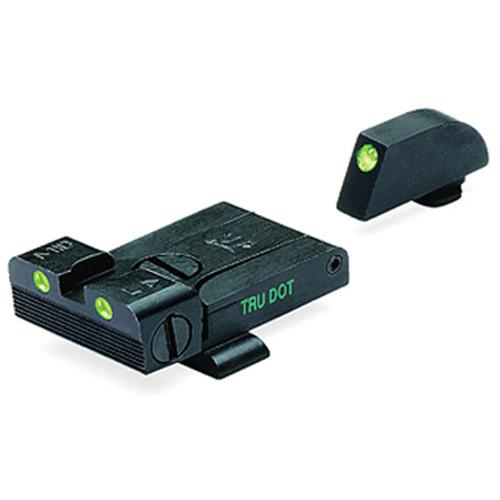 MEPROLIGHT LTD Tru-Dot Tritium Night Sight for Glock 17-23 (Set - Green/Green)