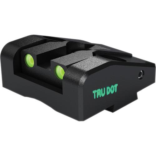 MEPROLIGHT LTD Ad-Com Adjustable Tritium Night Sight for Glock G26 & G27 Pistols (Rear Sight Only - Green)