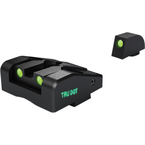 MEPROLIGHT LTD Ad-Com Adjustable Tritium Night Sight for Kahr K, P, MK & PM Pistols (Front & Rear Set - Green)