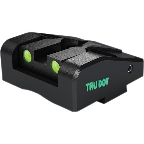 MEPROLIGHT LTD Ad-Com Adjustable Tritium Night Sight for Kahr K, P, MK & PM Pistols (Rear Sight Only - Green)